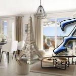 Комфортабельные апартаменты вновом жилом комплексе сгаванью изелеными зонами, в300 метрах отпляжа,Вильнёв-Лубе, Франция