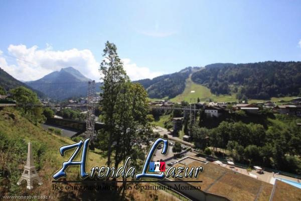 Участок 550 м2 на южном склоне г. Морзин, Французские Альпы